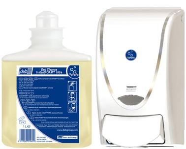 Deb® ProLine weiß/chrom 1 Liter Spender