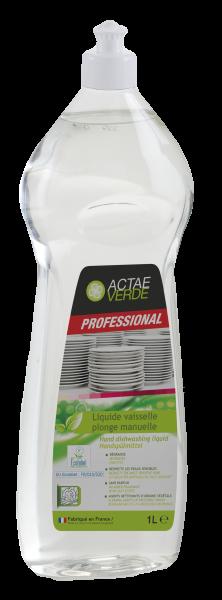 Actae Verde Professional - ökologisches Handspülmittel, 1 Liter Flasche