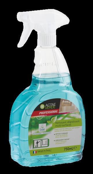 Actae Verde Professional - ökologischer Fettlöser für alle Oberflächen, 750 ml Sprayflasche