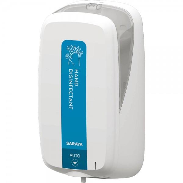 Saraya UD-1000 automatischer, berührungsloser Spender für 1,2 Liter Alsoft VB und 1,2 Liter Sarasoft