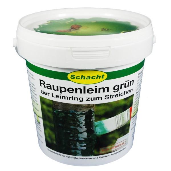 Raupenleim von Schacht grün 1kg Eimer