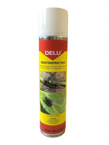 Insektenschutz plus, delu, 400ml Sprayflasche