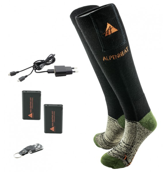 ALPENHEAT Heizsocken FIRE-SOCKS RC Wolle