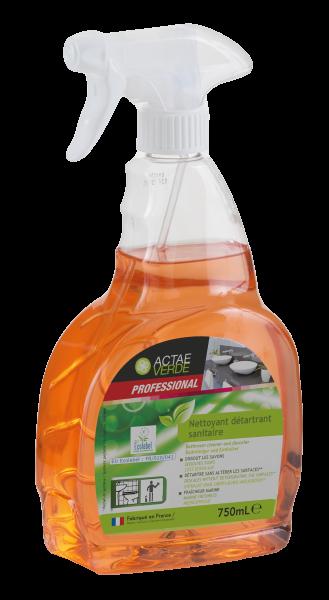 Actae Verde Professional - ökologischer Badezimmer-Reiniger und Entkalker, 750 ml Sprayflasche