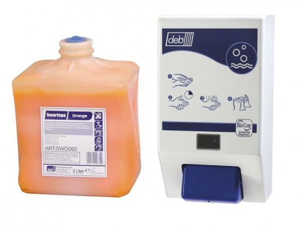 Deb© Cleanse Swarfega© Orange,Profihandreiniger, 4 Liter Kartusc