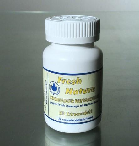 Staubsauger Duftgranulat FreshNature – Zitrone 140 ml Dose, ausr