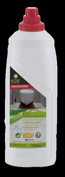 Actae Verde Professional - ökologischer WC Reiniger und Entkalker, 750 ml Flexflasche