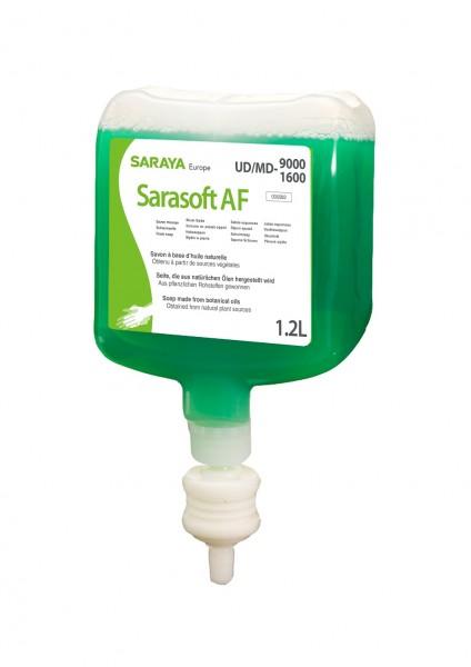 Saraya Schaumseife grüner Apfelduft Sarasoft 1,2 Liter/Patrone für Spender UD-1600